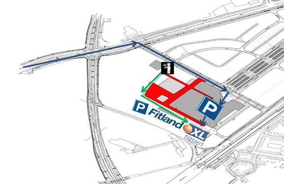 Parkeren Fitland XL