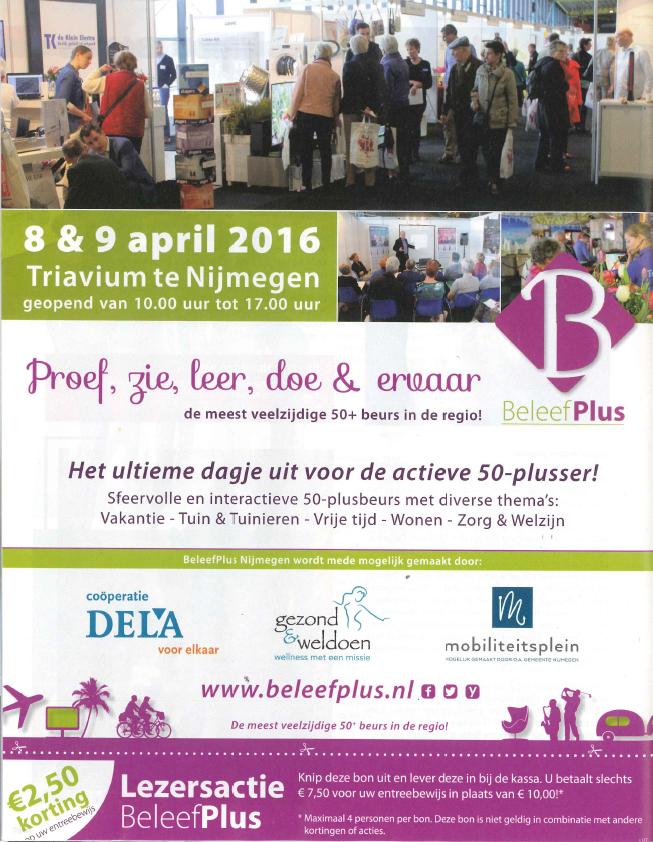 UIT Nijmegen - advertentie - maart